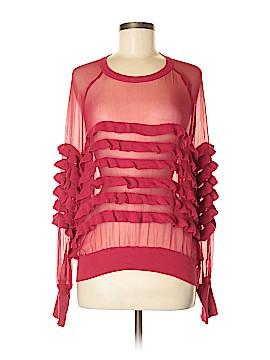 Sonia Rykiel Silk Pullover Sweater Size M