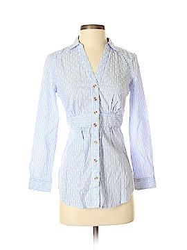 Maeve Long Sleeve Button-Down Shirt Size 0 (Petite)