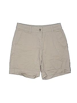 Kim Rogers Khaki Shorts Size 6