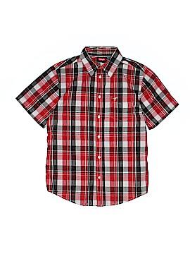 Wrangler Jeans Co Short Sleeve Button-Down Shirt Size 14