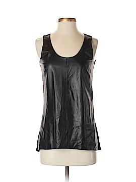 Ecru Leather Top Size XS