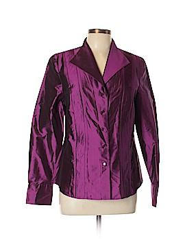 Carlisle Long Sleeve Silk Top Size 12
