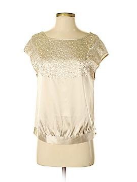 Moda International Short Sleeve Silk Top Size XS