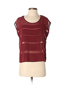 Chloe K Short Sleeve Blouse Size XS