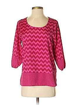 Jun & Ivy 3/4 Sleeve Blouse Size S