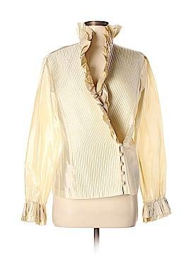 Linda Allard Ellen Tracy Silk Blazer Size 10