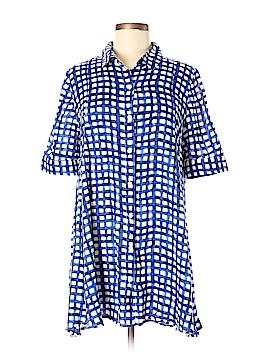 Tylho Short Sleeve Button-Down Shirt Size M