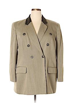 Jones New York Wool Blazer Size 22 (Plus)