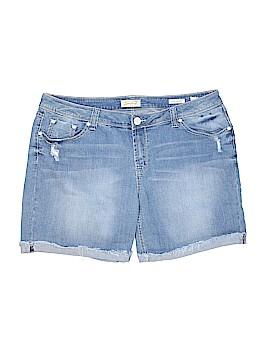 Seven7 Luxe Denim Shorts Size 20 (Plus)