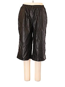 Roaman's Faux Leather Pants Size 18 (Plus)