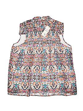 Valerie Stevens Sleeveless Blouse Size XL
