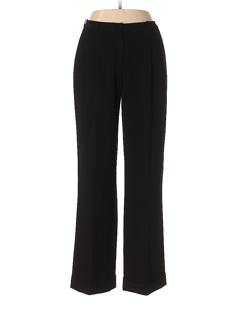 Calvin Klein Solid Black Dress Pants Size 10 76 Off Thredup