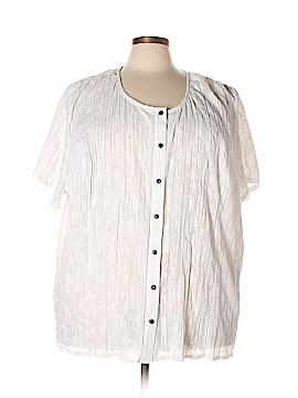 Liz & Me Short Sleeve Blouse Size 5X (Plus)