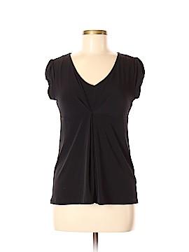 Apostrophe Short Sleeve Blouse Size M (Petite)