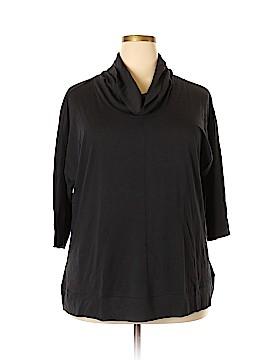 Roaman's 3/4 Sleeve Blouse Size 18 (Plus)