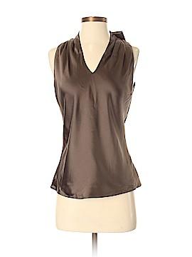 Feraud Sleeveless Silk Top Size 38 (FR)