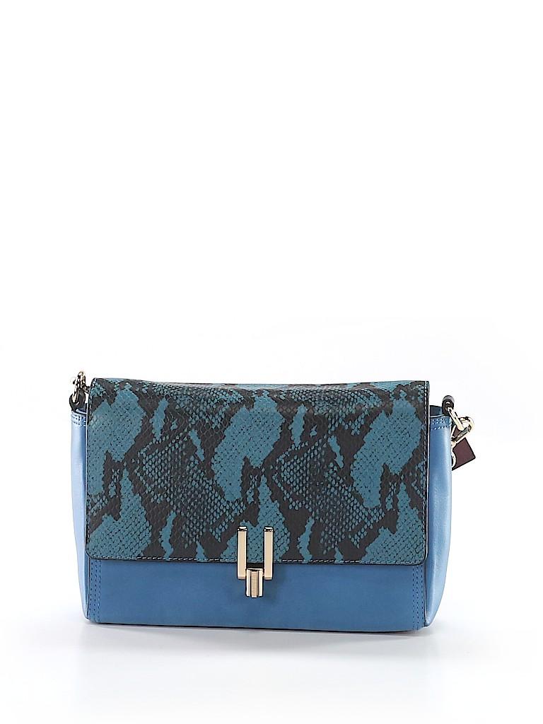 Pour La Victoire Animal Print Dark Blue Shoulder Bag One Size - 79 ... a28db9456f2c4