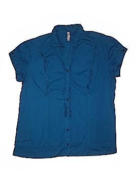 FCNY Short Sleeve Blouse Size 3X (Plus)