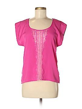 Sparkle & Fade Short Sleeve Blouse Size M
