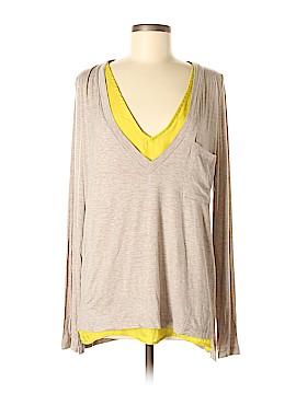 Bordeaux Long Sleeve T-Shirt Size M