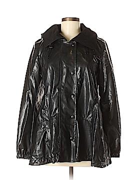 Akris punto Faux Leather Jacket Size 6