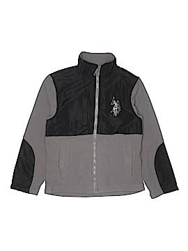 U.S. Polo Assn. Fleece Jacket Size 10/12