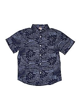 Gymboree Short Sleeve Button-Down Shirt Size 5 - 6