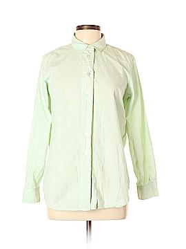 Lizwear by Liz Claiborne Long Sleeve Button-Down Shirt Size L
