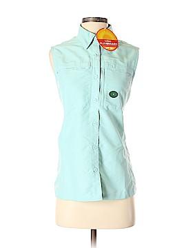 L.L.Bean Sleeveless Button-Down Shirt Size S