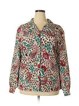 Alia Long Sleeve Blouse Size 24 (Plus)