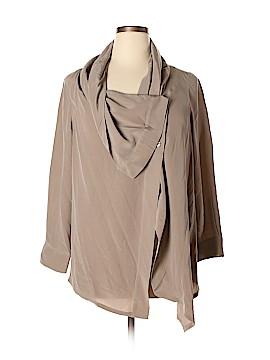 Soft Surroundings Long Sleeve Silk Top Size XL (Petite)