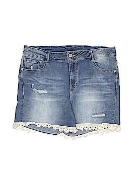 Faded Glory Denim Shorts Size 16