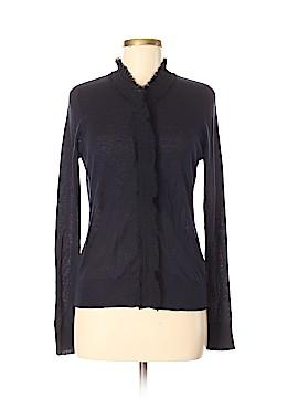 Jigsaw Silk Cardigan Size M