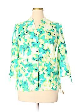 JM Collection 3/4 Sleeve Blouse Size 14 (Petite)