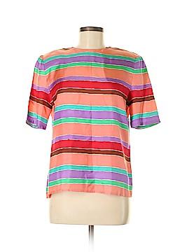 Carlisle Short Sleeve Silk Top Size 8