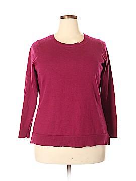 Ellen Tracy Wool Pullover Sweater Size 2X (Plus)