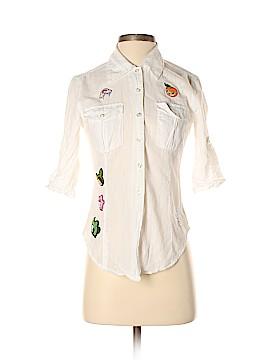 Tokidoki 3/4 Sleeve Button-Down Shirt Size S