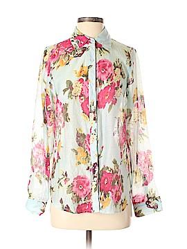 Hive & Honey Long Sleeve Button-Down Shirt Size S