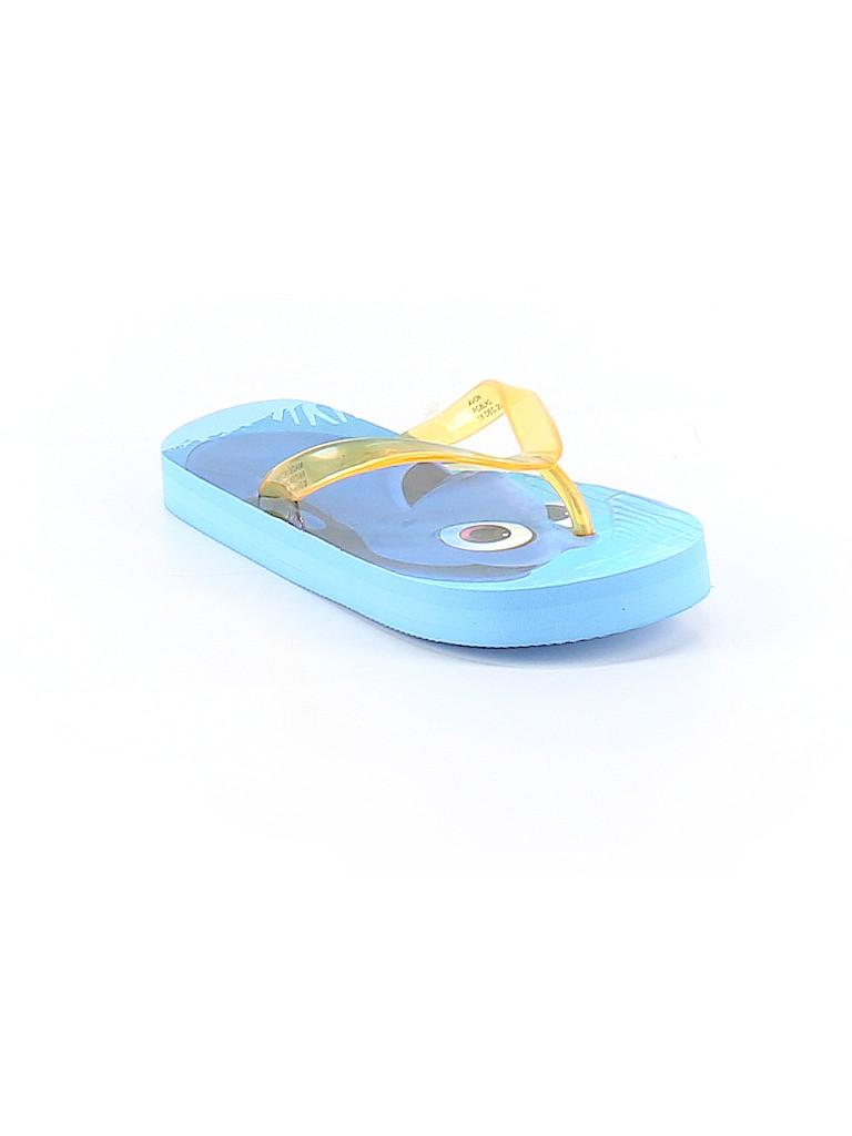 60b5dd0fe Disney Pixar Print Yellow Flip Flops Size 13-1 Youth - 84% off