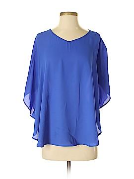 Xhilaration Short Sleeve Blouse Size P