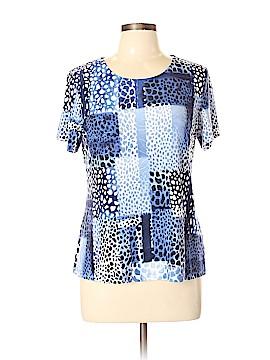 JM Collection Short Sleeve T-Shirt Size L (Petite)