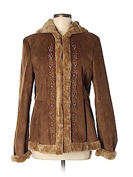 Esprit Leather Jacket Size M