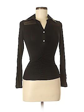 Blumarine Long Sleeve Button-Down Shirt Size S