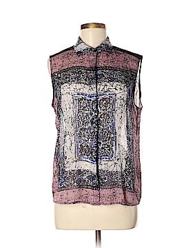 WAYF Short Sleeve Blouse Size M