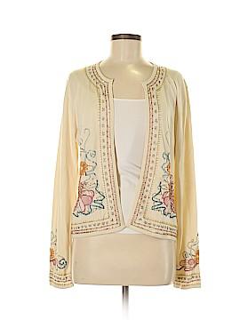 Neiman Marcus Silk Cardigan Size M