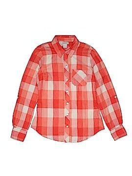 Lucky Brand Long Sleeve Button-Down Shirt Size X-Small (Kids)