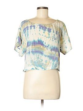 Gypsy 05 Short Sleeve Silk Top Size XS