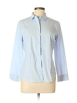 Apt. 9 Long Sleeve Button-Down Shirt Size L (Petite)