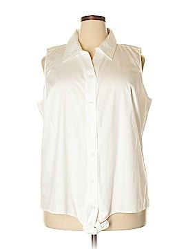 Cj Banks Short Sleeve Blouse Size 2X (Plus)
