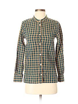 A.P.C. Long Sleeve Button-Down Shirt Size XS